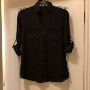 Black Express Portofino dress shirt